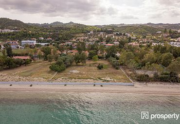 Chalkidiki, Pallini, Pefkochori, Plot seafront (2), 4100 sq.m.